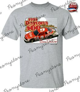 Men's #9Bill Elliott Heather Gray Daytona Classics Champions T-Shirt S-4XL