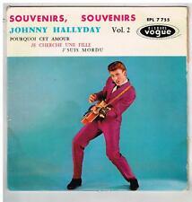 Johnny HALLYDAY  Souvenirs souvenirs  GUILDE DU DISQUE   7'  EP 45 tours