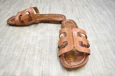 **Sam Edelman Bay Slide Sandal, Women's Size 7W, Saddle Leather