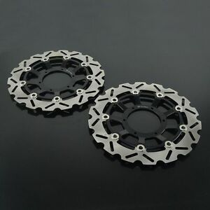 Front Rear Brake Disc Rotors Set For CBR600RR CBR1000RR CB1300SF CB1284 CB1300