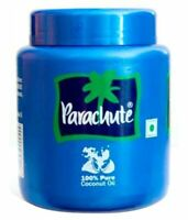 Parachute 100% Pure Coconut Oil for Hair, Skin care, Oil Pulling Free Shipping