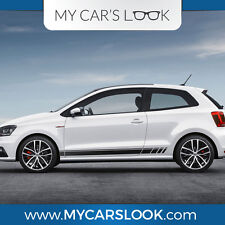 Volkswagen Polo 3-5door Mk5 seitenstreifen aufkleber grafik