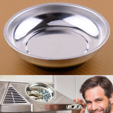 "4"" Magnetic Stainless Steel Part Nuts Bowl Tray Dish Machine Repair Storage Tool"