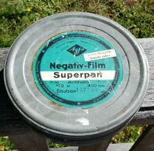 Vintage Agfa Negativ-Film Superpan 35mm 400ft Cannister