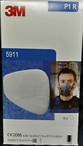 3M 5911-P1R Particulate Pre-filters