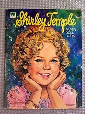 Vintage Shirley Temple Paper Doll Book ~Uncut~Nice!