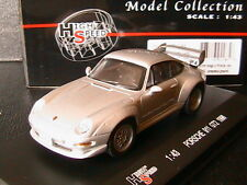 PORSCHE 911 996 GT2 1996 SILVER HIGHSPEED HF9228S 1/43 SILBER ARGENTE GERMANY