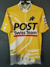 MENS SHIRT ASSOS SWITZERLAND POST CYCLING BICYCLE JERSEY MAGLIA MAILLOT SIZE M 3