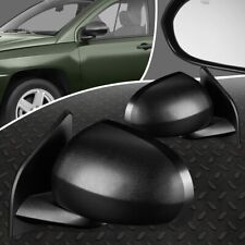 FOR 07-10 JEEP COMPASS PAIR OE STYLE POWER ADJUSTMENT+HEATED SIDE DOOR MIRROR