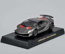 Kyosho 1/64 Diecast Car Gray Lamborghini Sesto Elemento Minicar Vehicles Models