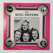 KING SISTERS: The Uncollected LP (Mono) Vocalists  Hindsight Records HSR 168