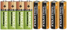 Duracell Power Akkus Accus Batterien AAA Micro AA Mignon  * Neuware aus 2020 *