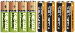 Duracell Power Akkus Accus Batterien AAA Micro AA Mignon  * Neuware aus 2021 *