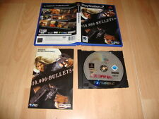 10.000 BULLETS DE TAITO-505 GAMES PARA LA SONY PLAY STATION 2 PS2 USADO COMPLETO