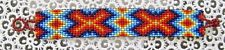 "NEW~Southwestern Hand Woven Glass Seed Bead Bracelet 1"" Wide ~NEW ~ Item #T1128"