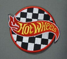 "HOT WHEELS Cars Collector Iron-On Collector Patch 3"" Round"
