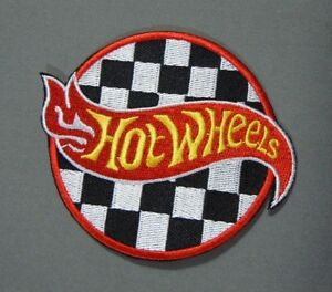 """HOT WHEELS Cars Collector Iron-On Collector Patch 3"""" Round"""