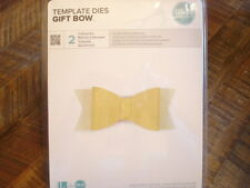 WE R MEMORY KEEPERS GIFT BOW CUTTING DIE SIZZIX BIG SHOT SCRAPBOOK TOOLS