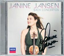 Janine JANSEN Signiert BACH Violin Concerto BWV 1041 42 60 Sonata Boris Brovtsyn