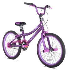"20"" Kent 2 Cool Girls BMX Bike Satin Purple with Colorful Padded Seat New"