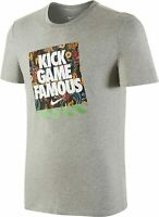 Nike Herren T-Shirt Kick Game Famous TEE, Grau , XL , Neu mit Etikett