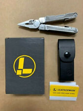 New Leatherman Rebar 17-in-1 Stainless Steel Multi-Tool W/ Black Leather Sheath