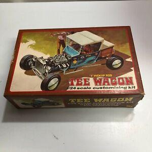 Lindberg Tee Wagon T Pickup Rod 1970 1/24 Model Kit Incomplete For Parts B45