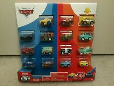 Disney Cars - Mini Racers - 15 Pack - New & Sealed