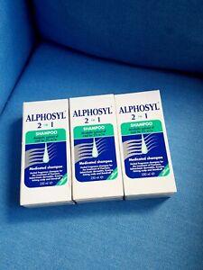 Alphosyl Shampoo 2-in-1 Psoriasis Itchy Scalp Seborrhoeic  (250ml) x3PACK