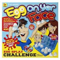 Egg On Your Face Novelty Family Fun Party Board Game Kids Children 2-6 Players