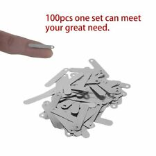 100 pcs Solder Tab For Sub C AAA 14500 18650 AA Battery Cell PA