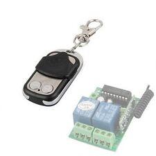 ALEKO Remote Control Transmitter for Universal Garage Door Opener