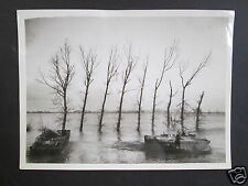 WW2 OFFICIAL BRITISH PRESS PHOTOGRAPH  - Royal Engineers, Cleve, Canadian Army