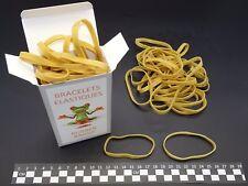 Elastiques Caoutchouc- Blond- 80(Ø50)mm x 5mm- boite de 100g