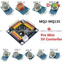 MQ-2 3 4 5 6 7 8 9 135 Gas Detection Alarm Sensor Module+Pro Mini 5V Controller