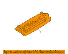 NISSAN OEM 14-16 Versa Note-High Mount 3rd Third Brake Light-Lamp 265903WC0A