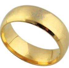 Bague Alliance Or Plaque Freemason 10 / 62  Franc Macon Masonic Ring Gold