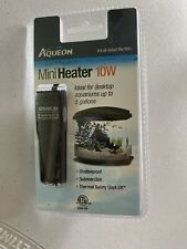 Aqueon Mini Heater 10 Watt Cul Desktop Aquariums. Shatterproof & Submersible