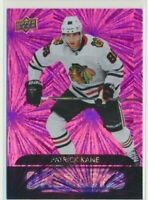 2020-21 Upper Deck Series 1 Dazzlers Pink 11 Patrick Kane Chicago Blackhawks