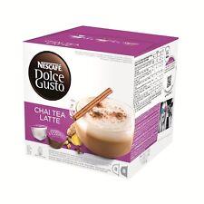 Nescafé Dolce Gusto Chai Tea Latte, 16 capsule . ( 8 serving ) .