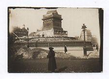 PHOTO ANCIENNE PARIS La Bastille Jacques Boyer Sac de sable Sde Guerre 14-18