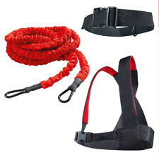 23ft Lightning Cord Fitness Resistance Bungee Band Trainer Power Speed Training