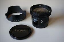 Minolta / Sony AF 20mm f2.8 A-Mount mit orig. Sonnenblende
