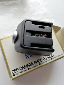 MINOLTA OFF-CAMERA SHOE OS-1100