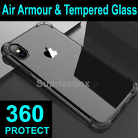 360 Case For iPhone 11 Pro Max XR X XS 7 8 Plus 6s 5s Cover Silicone Shockproof