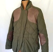 Eddie Bauer Goose Down Jacket Womens Xl 1936 Skyliner Model Hunting Green