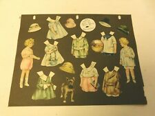 Vesta, Emma & Carl paper dolls - by Sheila Young (Ladies Home Journal? vintage