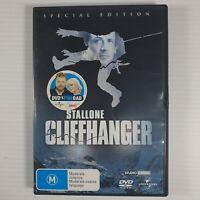 Cliffhanger DVD Region 4 Action Sylvester Stallone