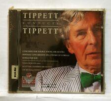 TIPPETT dir. TIPPET concerto, songs for dov, fantasia VIRGIN CD STILL SEALED