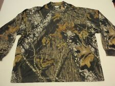 Browning Mossy Oak Break Up Camouflage Long Sleeve Shirt Men Extra Large XL